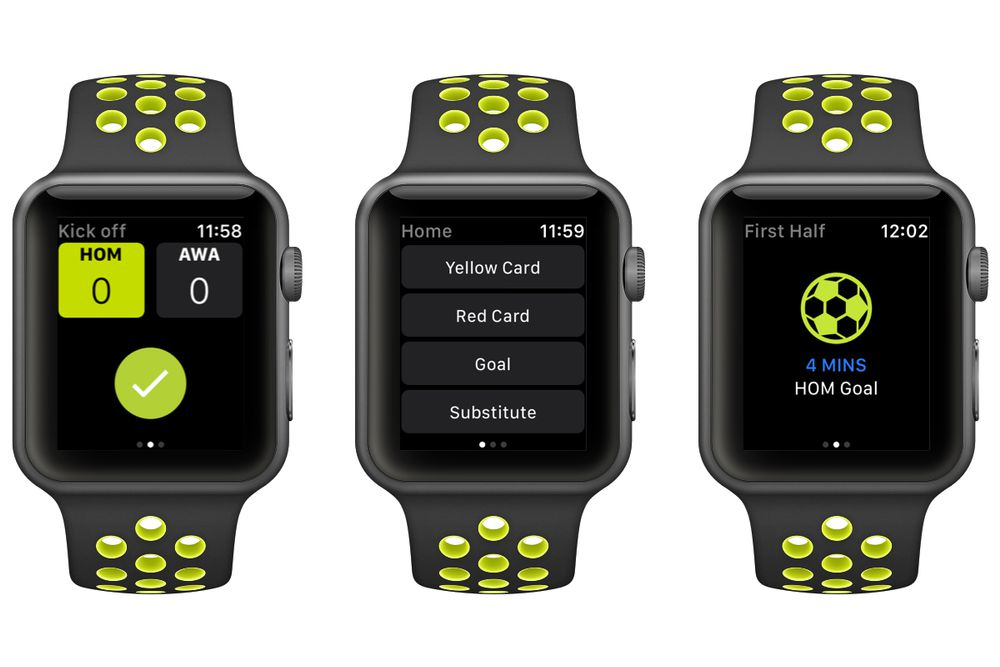 refsix Apple Watch screenshots